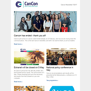 Cancon Newsletter 07/2017