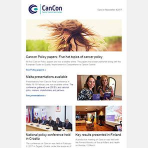 Cancon Newsletter 4/2017
