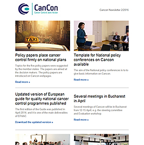 Cancon Newsletter 02/2016