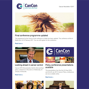 Cancon Newsletter 1/2017