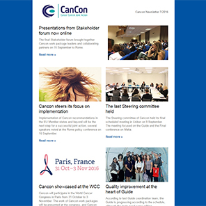 Cancon Newsletter 7/2016