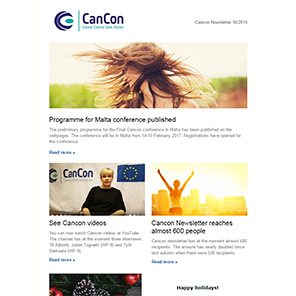 Cancon Newsletter 10/2016